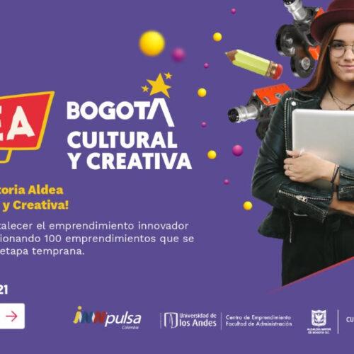 """ABIERTA LA CONVOCATORIA """"ALDEA BOGOTÁ CULTURAL Y CREATIVA"""" DE iNNpulsa COLOMBIA"""