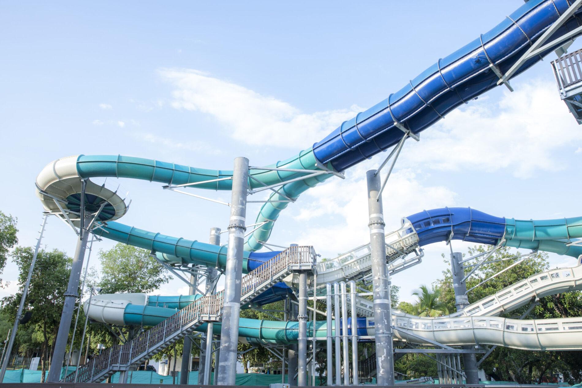 Nueva montaña rusa acuática en el Centro de Vacaciones Cafam Melgar