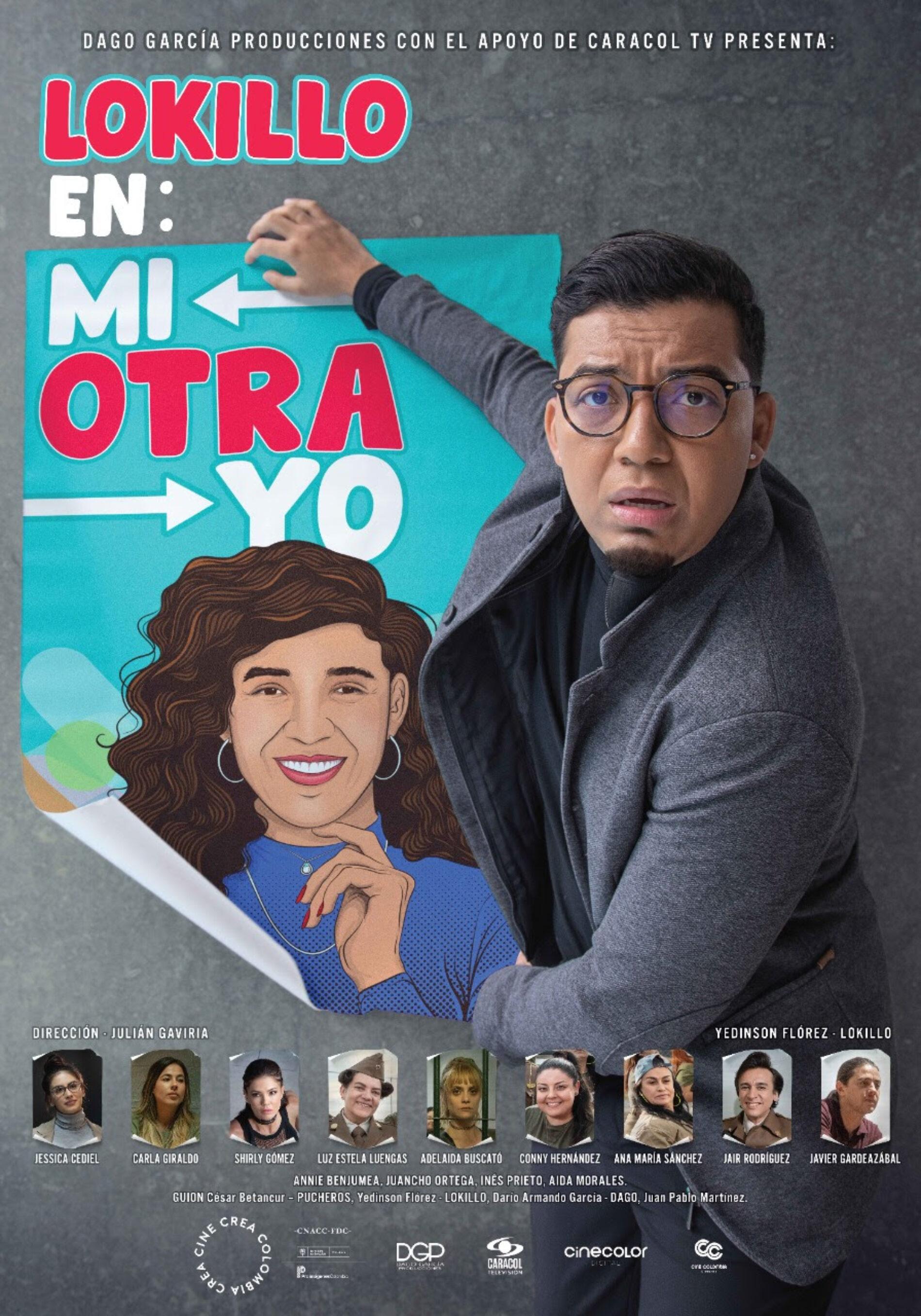 """REAPERTURA DE LAS SALAS DE CINE COLOMBIA CON """"LOKILLO EN: MI OTRA YO"""""""