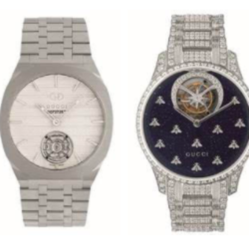 Colección de Alta Relojería de GUCCI HWM