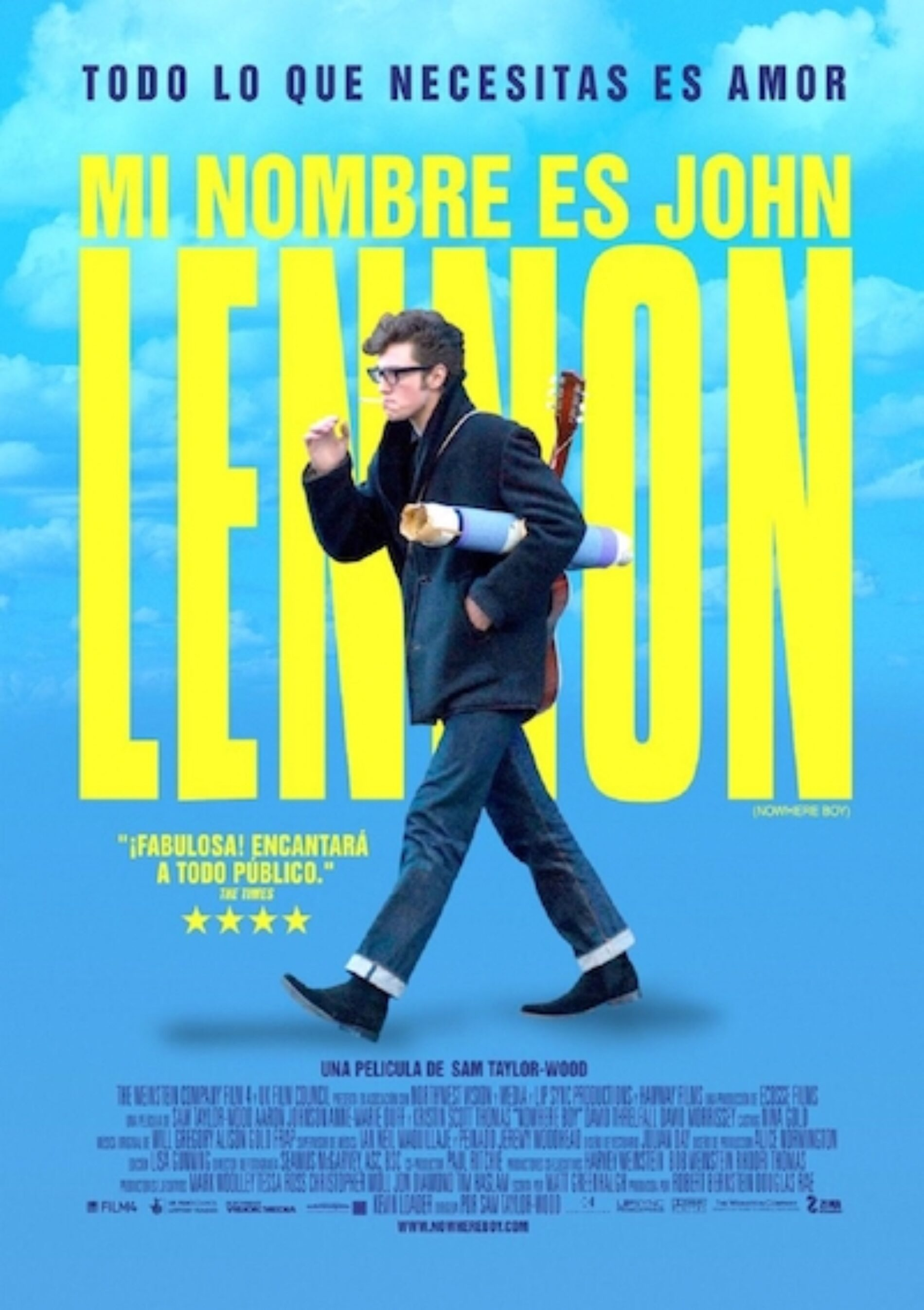 Llega la biopic de John Lennonpor la pantalla de Europa Europa
