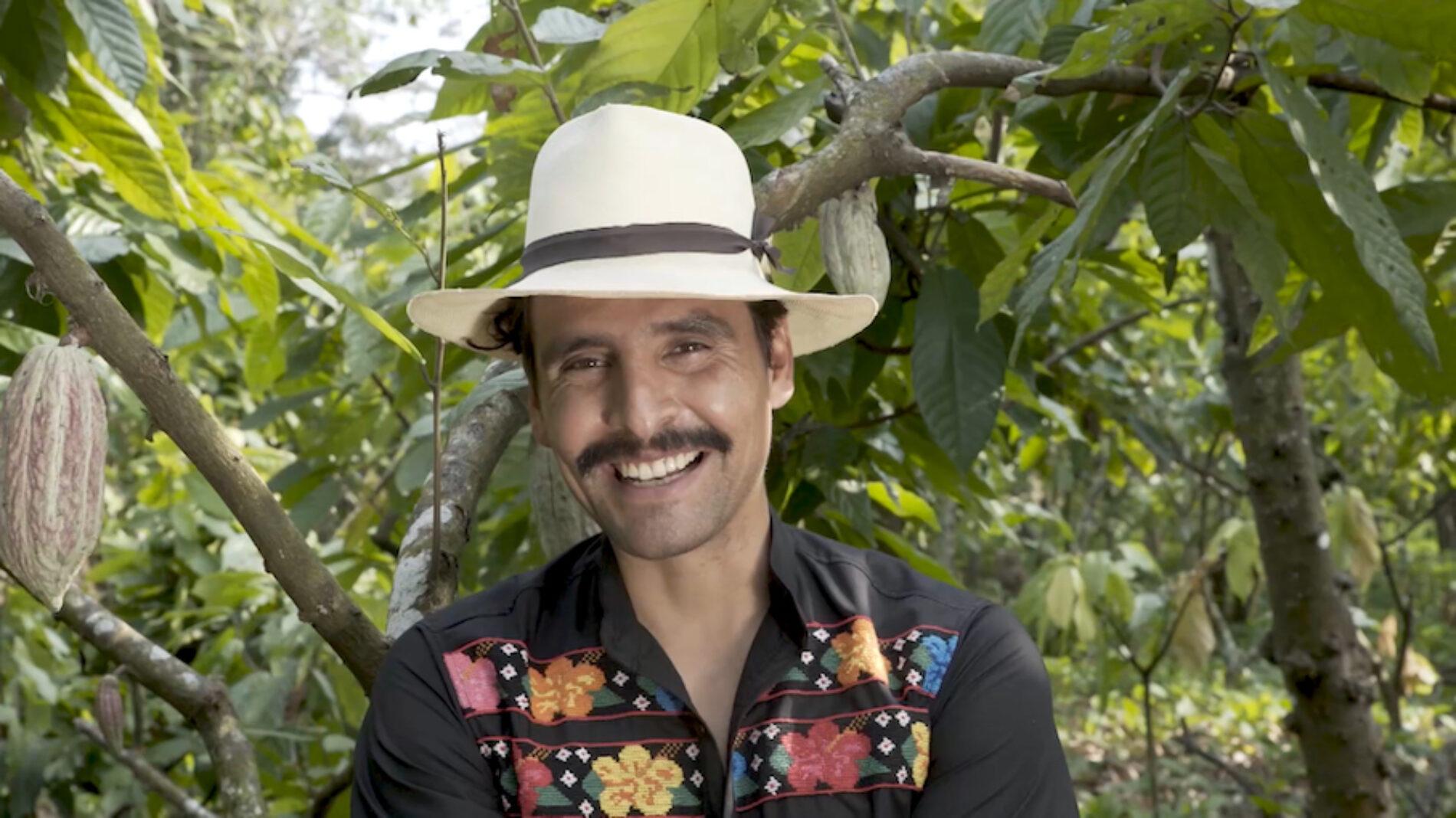"""Enrique Cervantes: """"La gastronomía mexicana es muy rica. No es solo tacos"""""""
