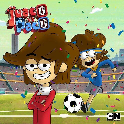 Cartoon Network se suma a la pasión del fútbol con 'Juaco vs Paco', nueva producción original para toda la familia