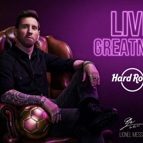 Hard Rock Cafe celebra su 50 aniversario anunciando una colaboración con Lionel Messi