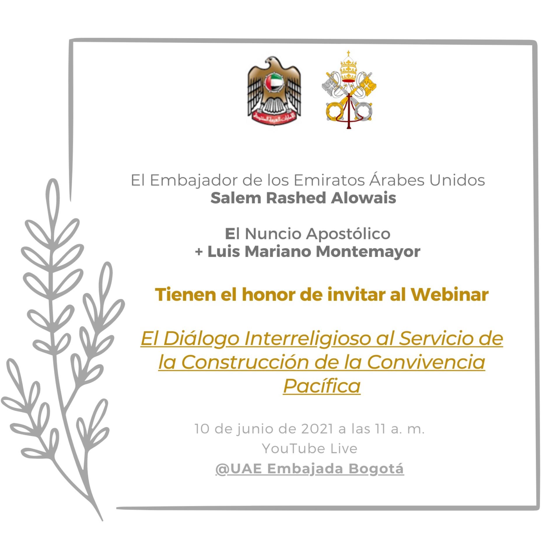 Diálogo Interreligioso al Servicio de la Construcción de la Convivencia Pacífica