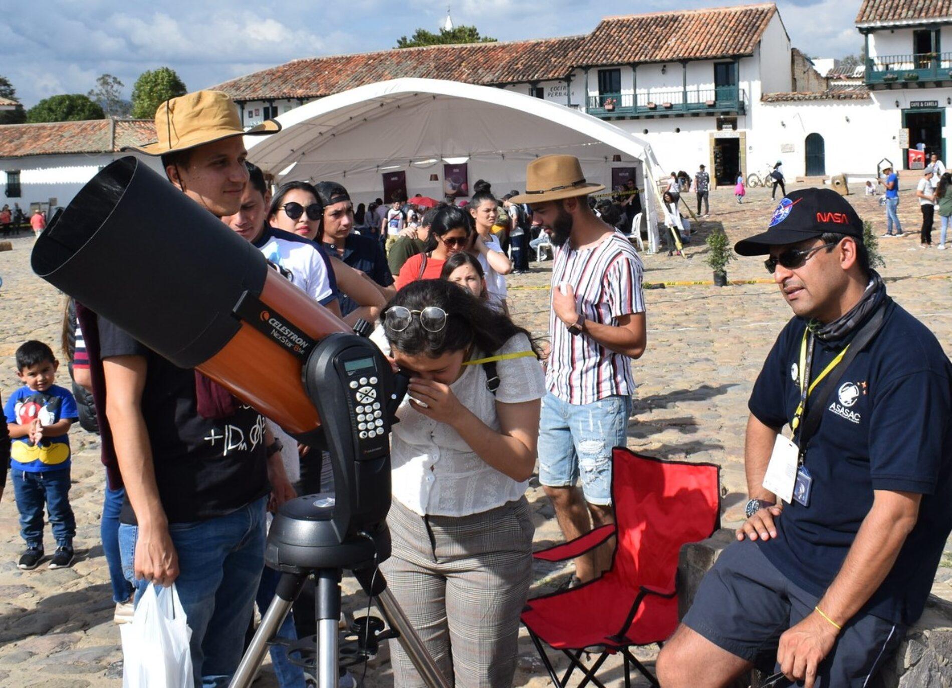 Festival de Astronomía de Villa de Leyva celebra el 60 aniversario de la llegada del primer hombre al espacio