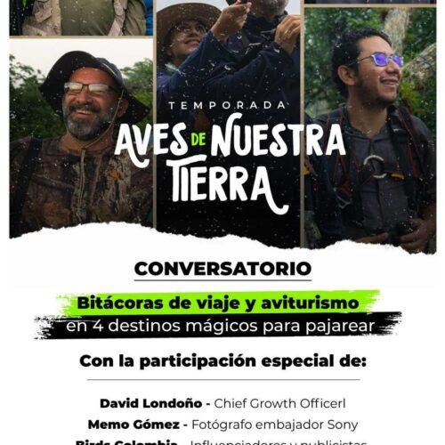 AVES DE NUESTRA TIERRA, la nueva temporada de Conexión Awake