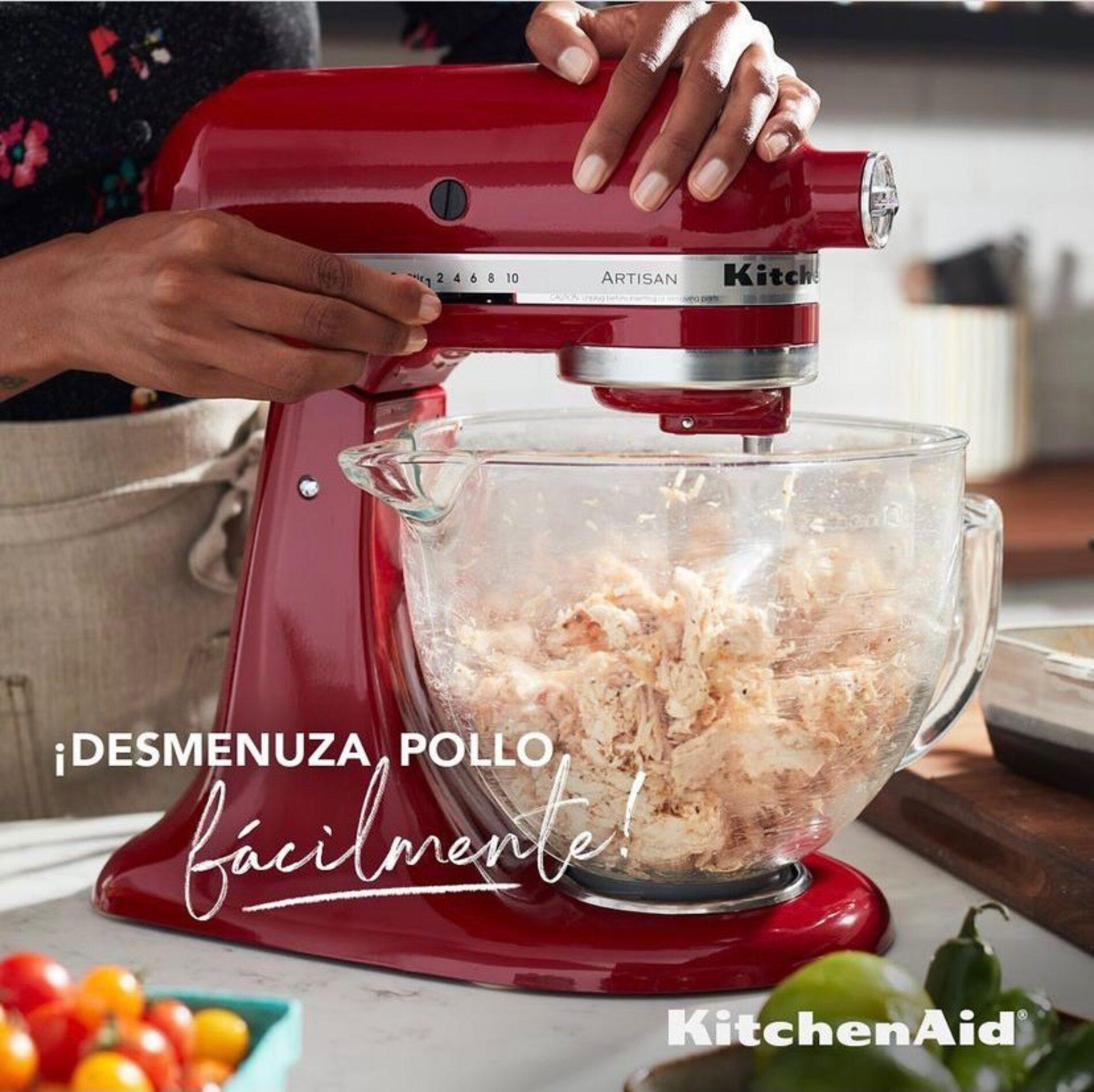 Haz que todas tus creaciones inspiren y vive momentos memorables con KitchenAid