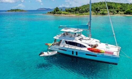 All Inclusive, vacaciones de lujonavegandoen las Islas Vírgenes